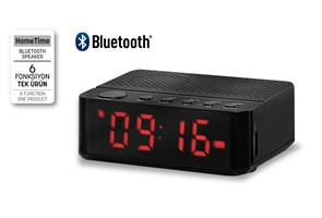 Home Time Bluetooth Hoparlör Ve Dijital Saat