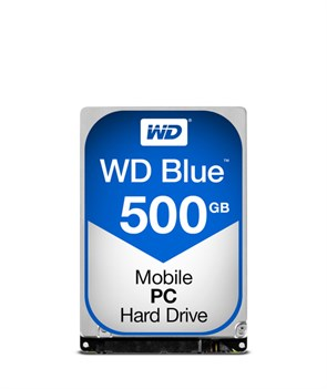 WD Blue 2.5 Slim SATA 6Gb/s 500GB 5400rpm 7,0mm