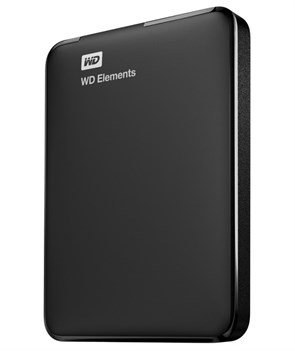 WD Elements Portable 2,5 1TB Black USB 3.0